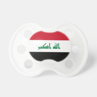 Iraq National World Flag Pacifier