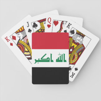 Iraq National World Flag Playing Cards
