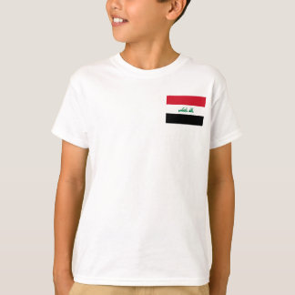 Iraq National World Flag T-Shirt
