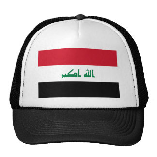Iraq National World Flag Trucker Hat