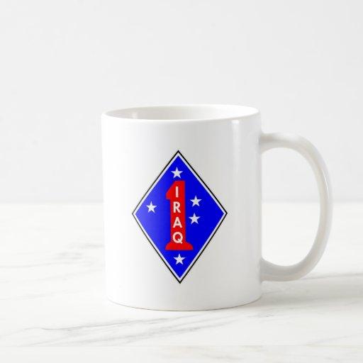 Iraq Patch #1 Coffee Mugs