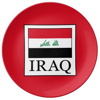 Iraq Plate