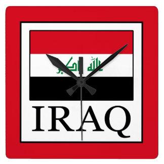Iraq Square Wall Clock