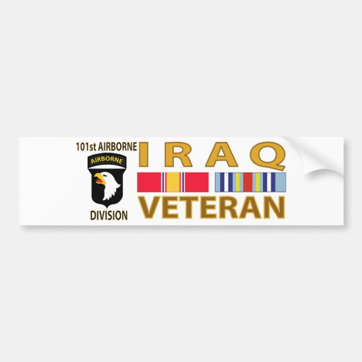 Iraq Veteran Bumper Stickers