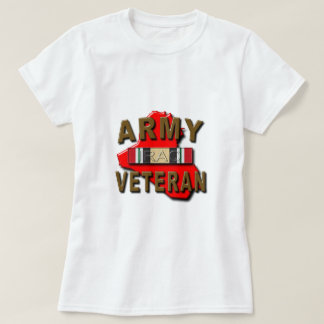 Iraq Veteran Service Ribbon, ARMY T-Shirt