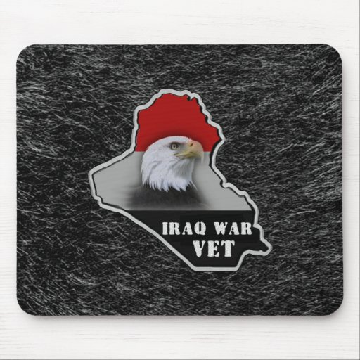 Iraq War Military Veteran Mousepads