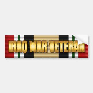 IRAQ WAR VETERAN BUMPER STICKER