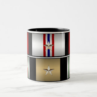Iraqi & Afghanistan Campaign Medals Mug - OEF OIF
