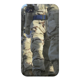 Iraqi air force recruits march case for the iPhone 4