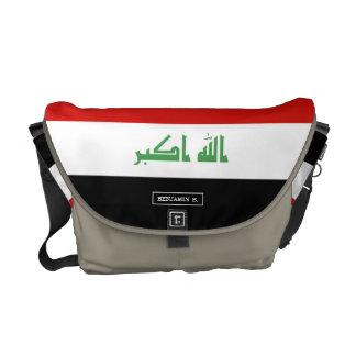 Iraqi Flag Commuter Bags