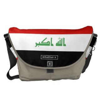 Iraqi Flag Courier Bag