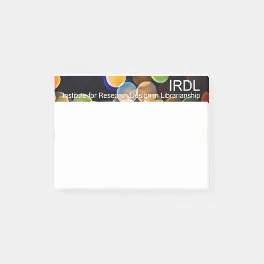 IRDL sticky notes
