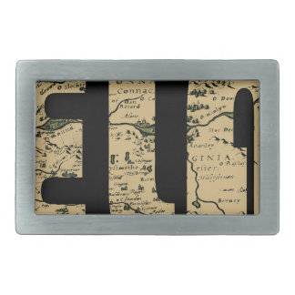 ireland1598b rectangular belt buckle