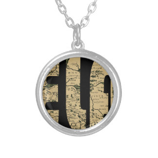 ireland1598b silver plated necklace