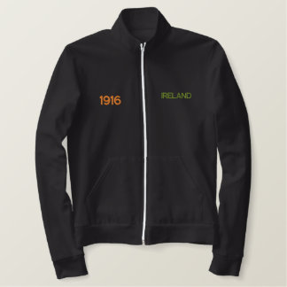 IRELAND 1916 - EASTER RISING TRACKJACK EMBROIDERED JACKET