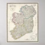 Ireland Atlas map Poster