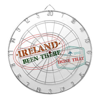 Ireland Been There Done That Dartboard