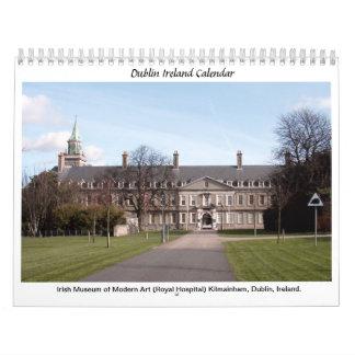 Ireland calendar - Famous Dublin landmarks
