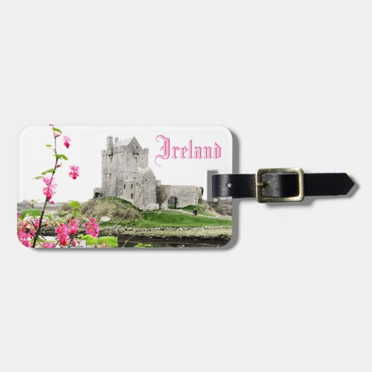 Ireland Castle Customizable Travel Luggage Tag