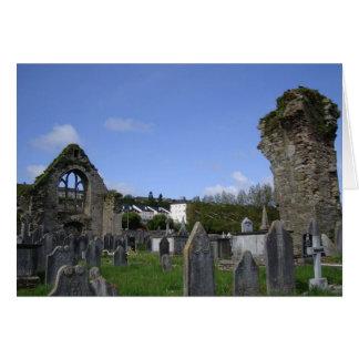 Ireland Cemetary Photo Note Card