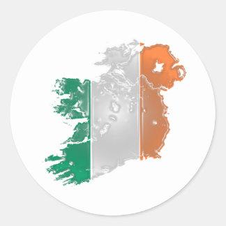 Ireland Classic Round Sticker