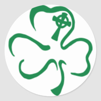 ireland classic round sticker