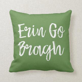 Ireland Cliffs Erin Go Bragh Pillow