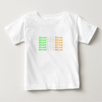 Ireland - Colours of the Irish Tricolour Flag Baby T-Shirt