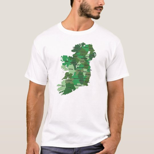 Ireland Counties tshirt