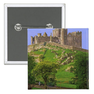 Ireland, County Tipperary. View of the Rock of 2 Inch Square Button