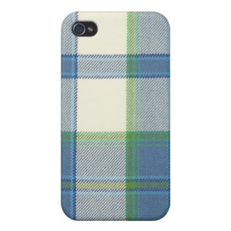 Ireland Dress Blue Tartan iPhone 4/4S Hard Case