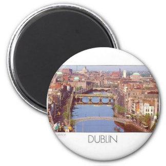 Ireland Dublin River Liffey (St.K.) Magnet