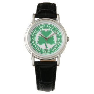 Ireland Éire Shamrock Watch
