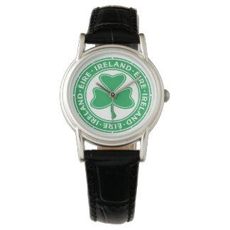 Ireland Éire Shamrock Wrist Watches