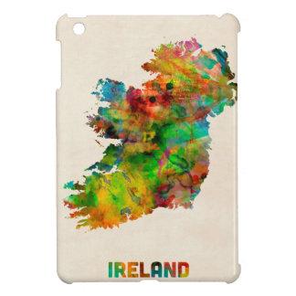 Ireland Eire Watercolor Map iPad Mini Cases