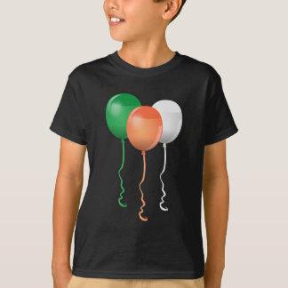 Ireland Flag Balloons T-Shirt