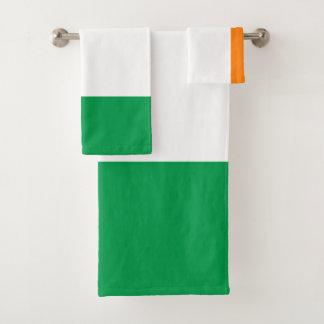 Ireland Flag Bath Towel Set