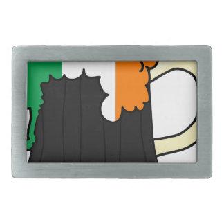 Ireland Flag Beer Mug Belt Buckle