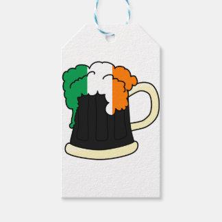 Ireland Flag Beer Mug Gift Tags