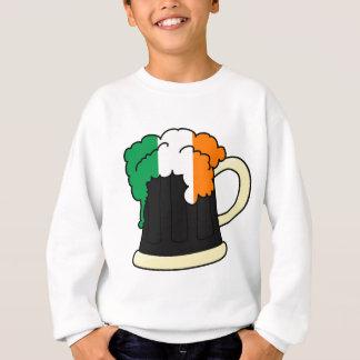 Ireland Flag Beer Mug Sweatshirt