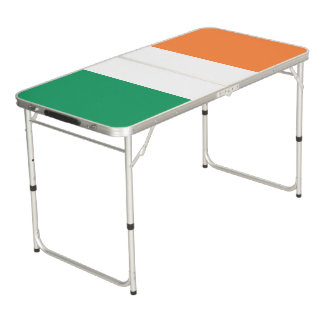 Ireland Flag Beer Pong Table