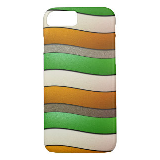 Ireland Flag Colors-Chrome by Shirley Taylor Case-Mate iPhone Case