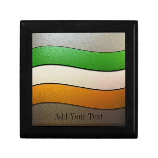 Ireland Flag Colors-Chrome by Shirley Taylor Gift Box