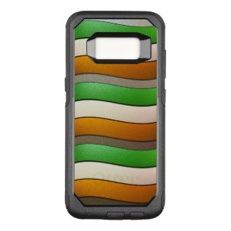 Ireland Flag Colors-Chrome by Shirley Taylor OtterBox Commuter Samsung Galaxy S8 Case