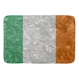 Ireland Flag - Crinkled Bath Mat