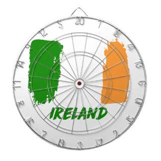 Ireland flag design dartboards