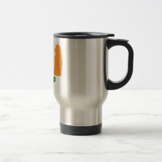 Ireland flag design travel mug