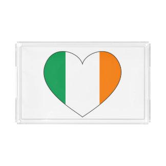 Ireland Flag Heart Perfume Tray