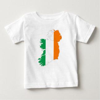 Ireland Flag Map Baby T-Shirt