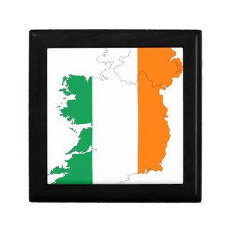 Ireland Flag Map Gift Box